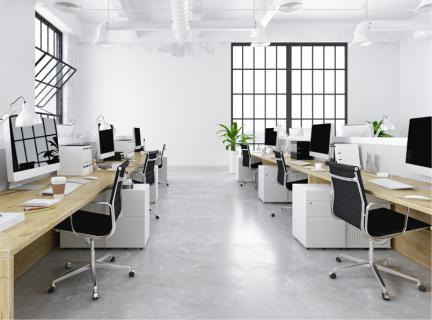 Cách bố trí nội thất văn phòng hiện đại