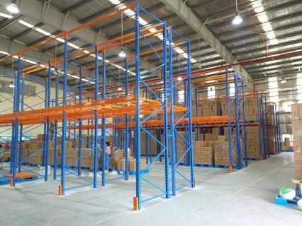 Bàn giao khung giá công nghiệp cho khách hàng tại Nam Định